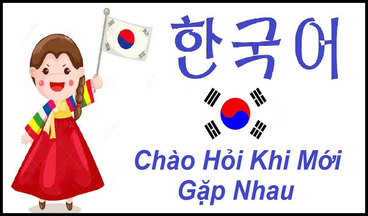 Những câu giao tiếp Tiếng Hàn thông dụng hằng ngày nên học